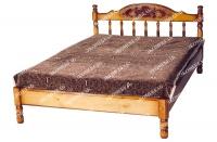 Кровать-тахта Точенка Глория (резьба шапкой)