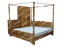 Кровать Афина с балдахином  с подъёмным механизмом