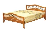 Полутороспальная кровать Алиса (ковка)