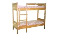 Кровать двухъярусная Классика из сосны