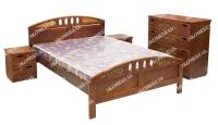 Кровать Галатея (береза)  для дачи