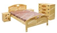 Кровать Галатея (сосна) для дачи