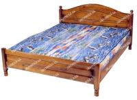 Кровать Горка филенчатая  для дачи