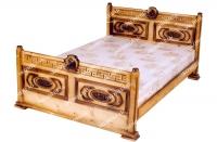 Кровать Греческая резная с подъёмным механизмом