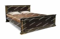 Полутороспальная кровать Грета из дуба