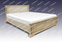 Полутороспальная кровать Грета из дуба - ракушка 1