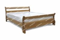 Полутороспальная кровать Муза из дуба