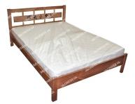 Кровать Сакура с орнаментом для дачи