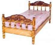Кровать Точенка Глория (резьба объемная №2)