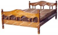 Кровать Точенка Волна  для дачи