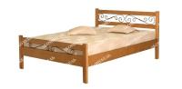 Полутороспальная кровать Венеция (ковка)