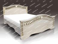 Полутороспальная кровать Милена из дуба